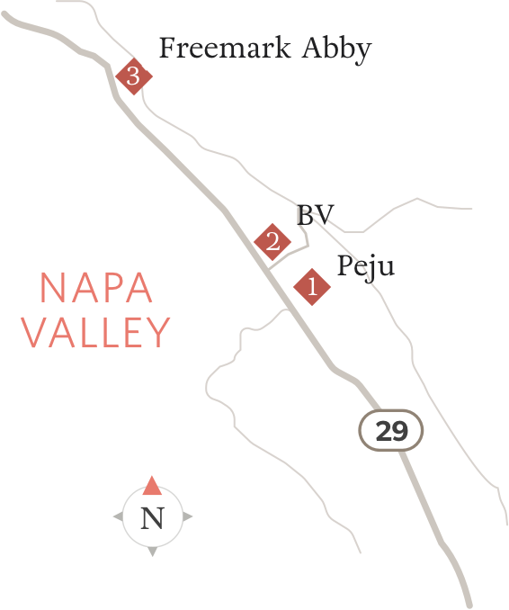 Map of Highway 29 Locations